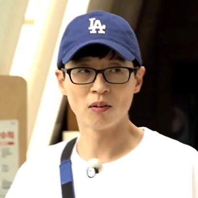 '런닝맨' 유재석 MLB CAP