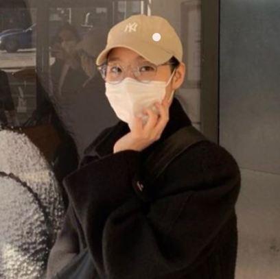 김고은 사복패션 MLB CAP
