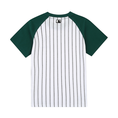 UNISEX STRIPE RAGLAN SHORT SLEEVED T-SHIRT