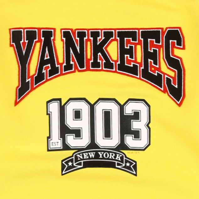 NEW YORK YANKEES UNISEX CLASSIC ARCHED LOGO SWEATSHIRT
