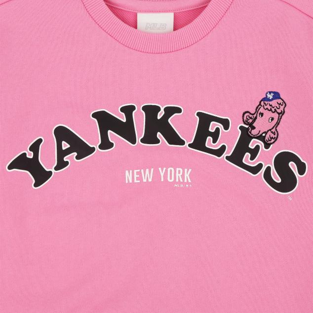 NEW YORK YANKEES UNISEX BARK COLOR BICOLOR SWEATSHIRT