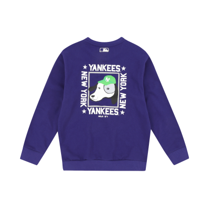 NEW YORK YANKEES UNISEX BACK DRAWING BARK SWEATSHIRT