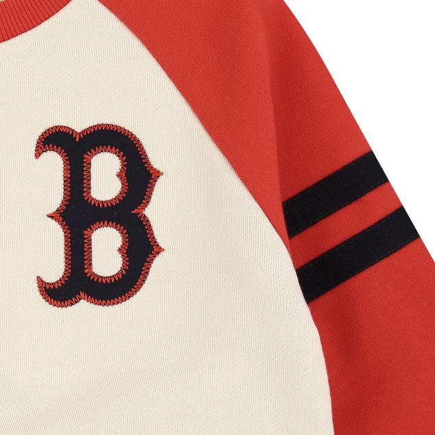 BOSTON RED SOX UNISEX VINTAGE LOGO RAGLAN SWEATSHIRT