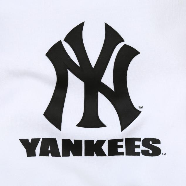 NEW YORK YANKEES UNISEX SLEEVE CUT BICOLOR SWEATSHIRT