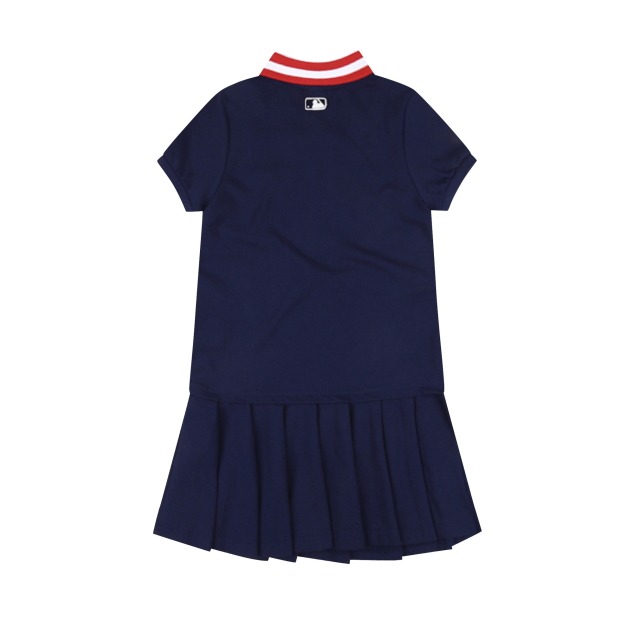 HOUSTON ASTROS GIRL'S ATTO EMBROIDERY COLLAR DRESS