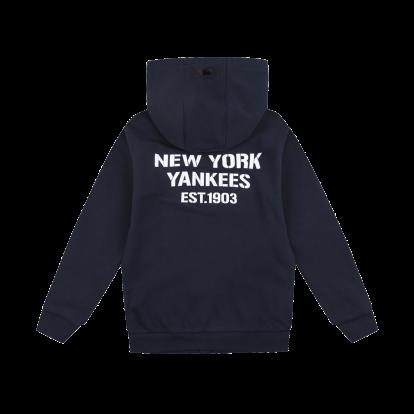 NEW YORK YANKEES UNISEX SQUARE LOGO TRAINING ZIP-UP HOODIE