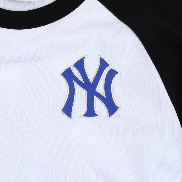 NEW YORK YANKEES UNISEX RAGLAN T-SHIRT