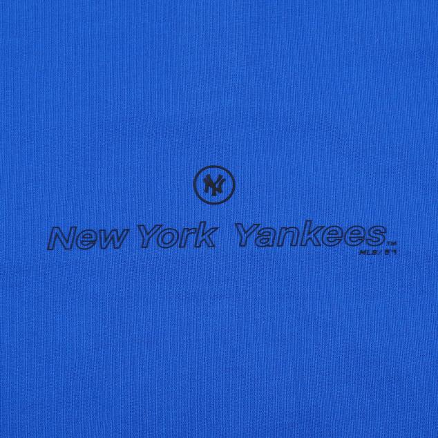 NEW YORK YANKEES BOY'S COLLAR LOOSE FIT SHORT SLEEVE T-SHIRT