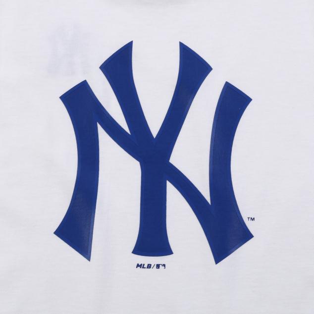 NEW YORK YANKEES UNISEX BACK BIG LOGO SHORT SLEEVE T-SHIRT