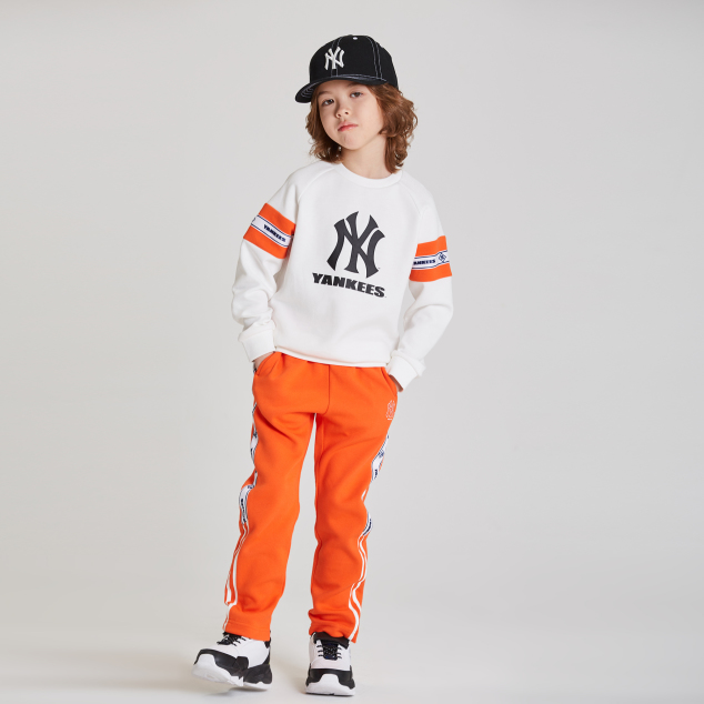 NEW YORK YANKEES UNISEX DIAMOND TAPE TRACK PANTS
