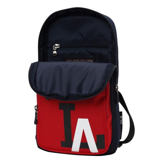 MLBKIDS SCHOOL BAG LA DODGERS MAJOR LOGO POINT SLING BAG