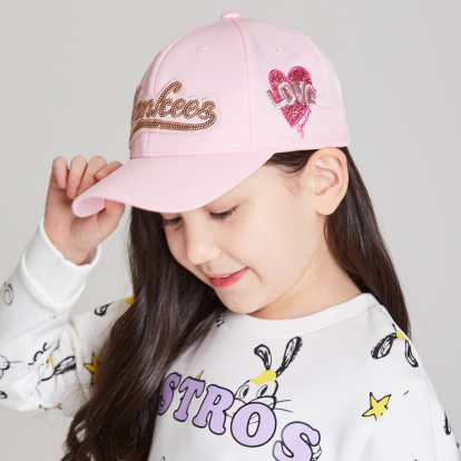 NEW YORK YANKEES TWINKLE LUX CURVED CAP