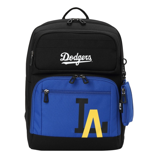 MLBKIDS SCHOOL BAG LA DODGERS MAJOR LOGO POINT BACKPACK