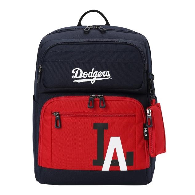 MLBKIDS SCHOOL BAG LA DODGERS MAJOR LOGO POINT BACKPACK
