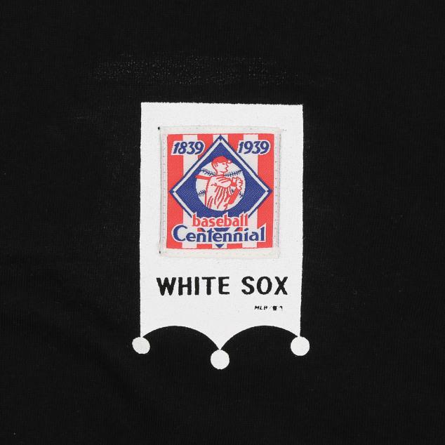 CHICAGO WHITE SOX BASEBALL LABEL SHORT SLEEVE T-SHIRT