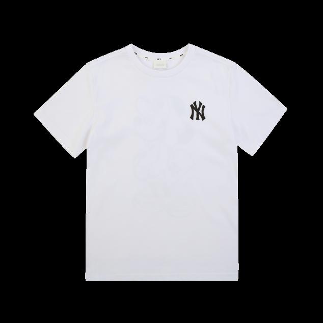 MLB x DISNEY 미키마우스 등판 그래픽 티셔츠 뉴욕양키스