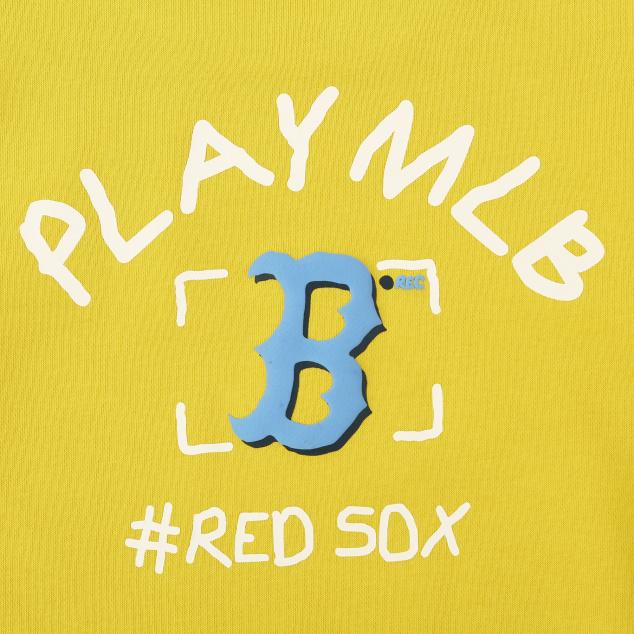 팝콘 PLAY MLB 맨투맨 보스턴레드삭스