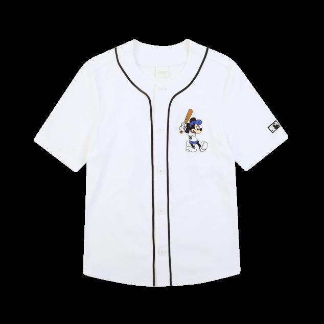 MLB x DISNEY 미키마우스 베이스볼 저지 뉴욕양키스