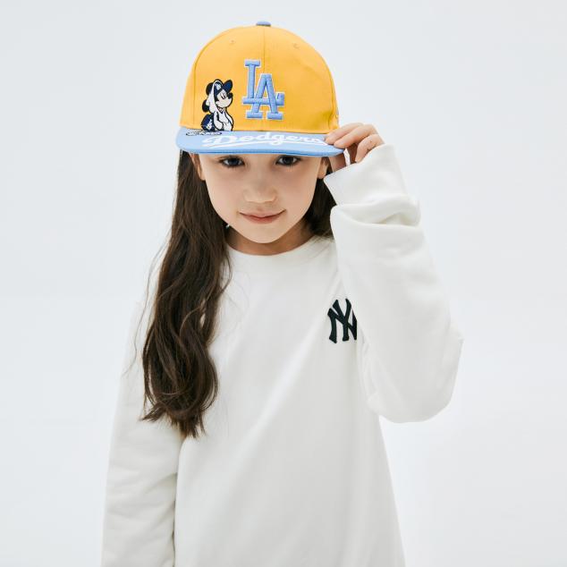 MLB x DISNEY 뒤 빅 미키마우스 맨투맨 뉴욕양키스