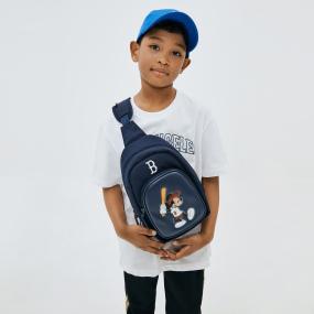 MLB x DISNEY 미키마우스 슬링백 보스턴레드삭스