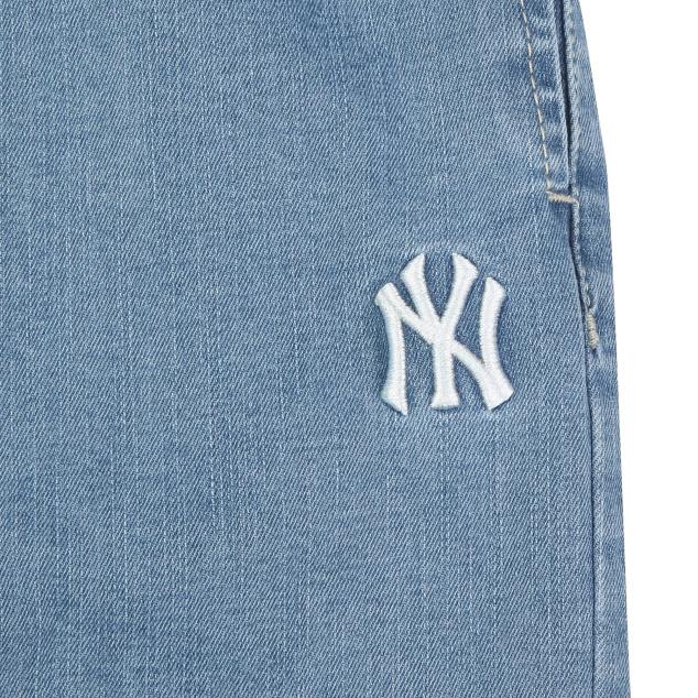 양키스 여아 와이드 데님팬츠 뉴욕양키스