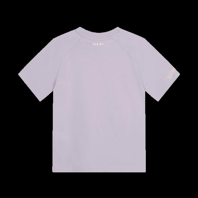 여아 마카롱 라글란 반팔 티셔츠 뉴욕메츠