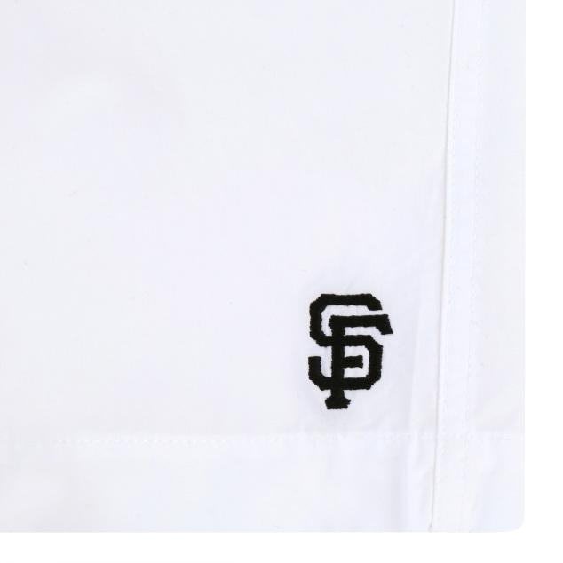 다다미자수 루즈핏 5부 면 팬츠 샌프란시스코자이언츠