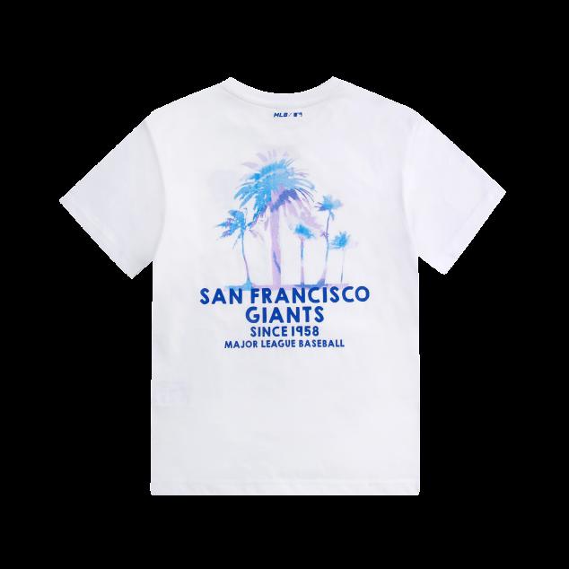 팜트리 타이다이 프린트 티셔츠 샌프란시스코자이언츠