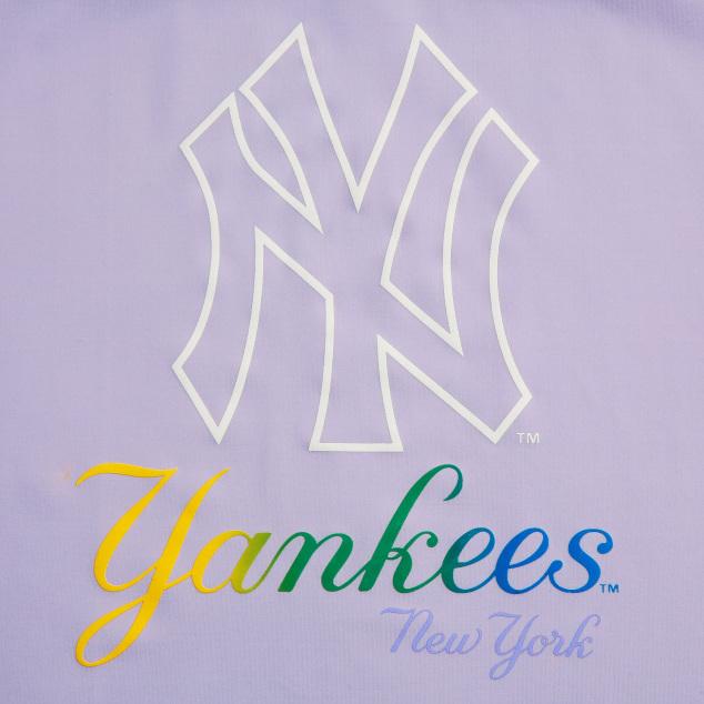 여아 레인보우 스포츠 티셔츠 뉴욕양키스