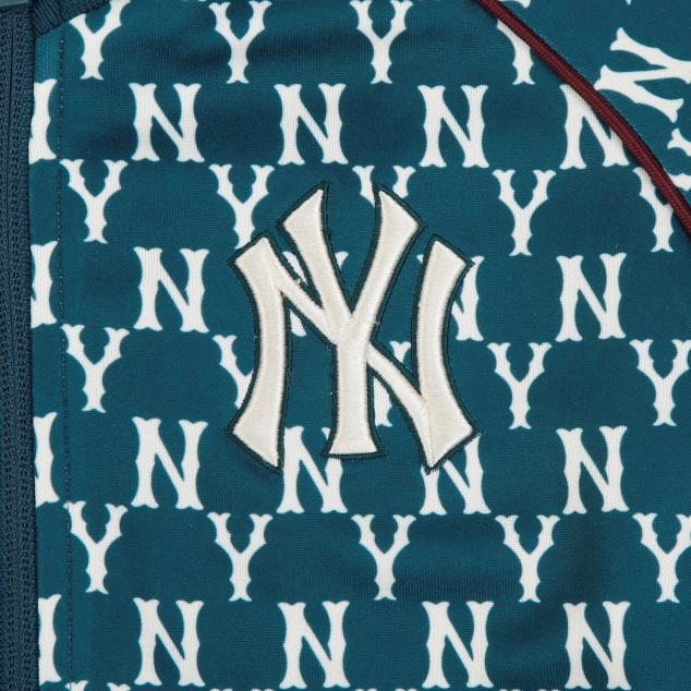 모노그램 배색 테이프 트레이닝 집업 뉴욕양키스