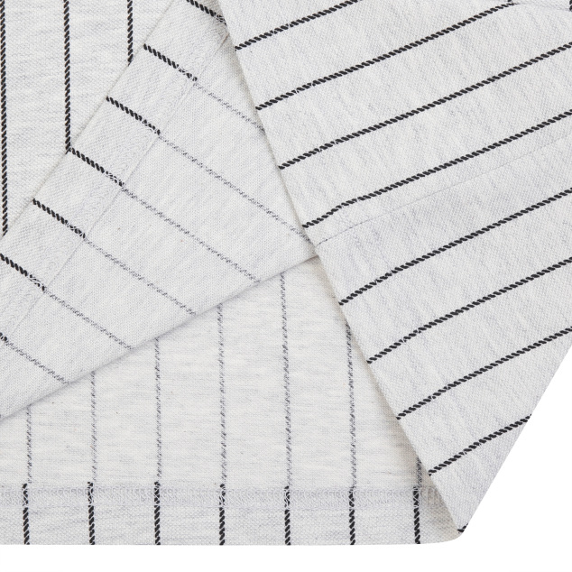 스트라이프 라글란 7부 티셔츠 클리블랜드인디언스