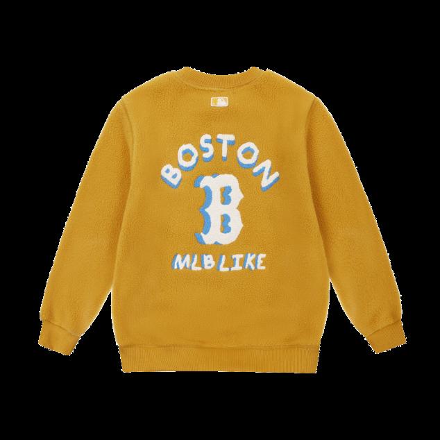 패밀리 MLB LIKE 양털 후리스 맨투맨 보스턴레드삭스