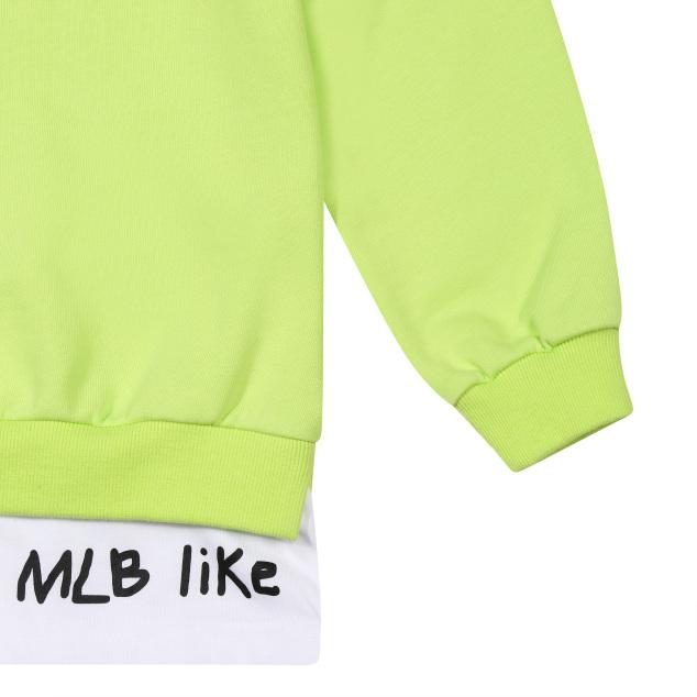 MLB LIKE 레이어드 롱 맨투맨 LA다저스