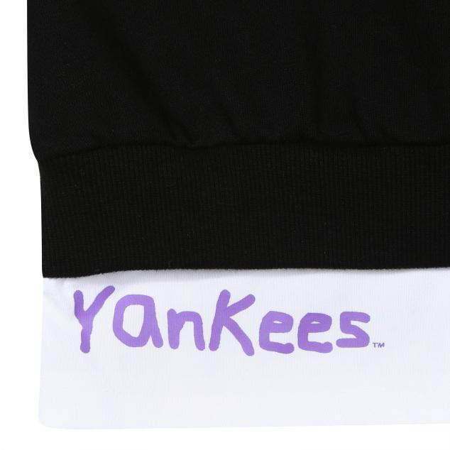 MLB LIKE 레이어드 롱 맨투맨 뉴욕양키스