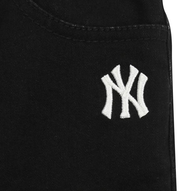 MLB키즈 세미배기핏 겨울 발열 청바지 뉴욕양키스