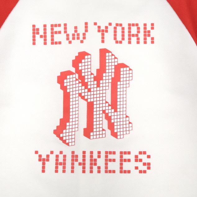 PLAY MLB 픽셀 베이스볼 셔츠 뉴욕양키스