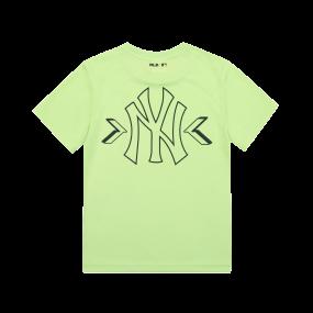 SEAM BALL 레인보우 티셔츠 뉴욕양키스