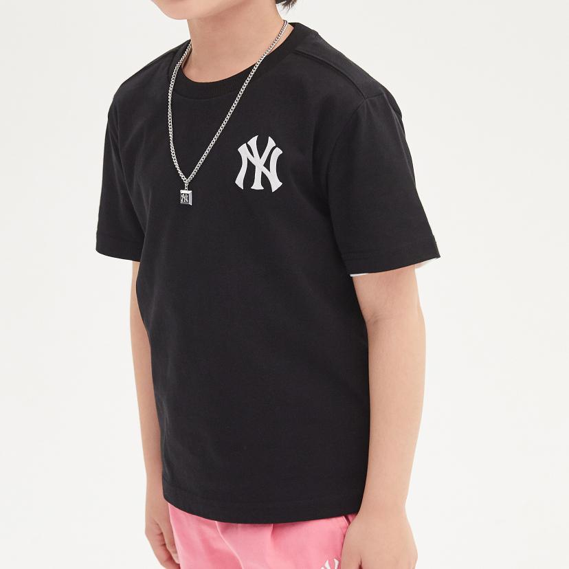 패밀리 프린트로고 티셔츠 뉴욕 양키스