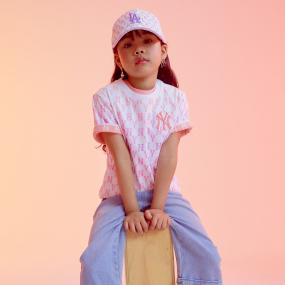 패밀리 트로피칼 모노그램 티셔츠 뉴욕양키스