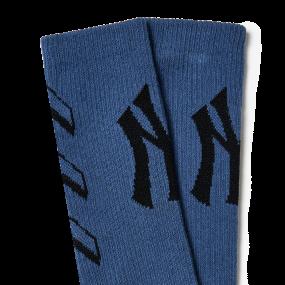자카드 스케이트 양말 뉴욕양키스