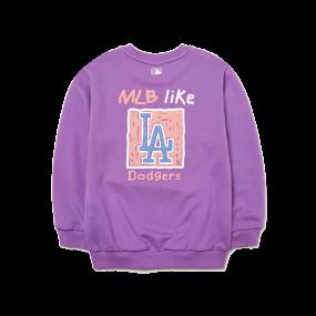 MLB LIKE 사각형 맨투맨 LA다저스