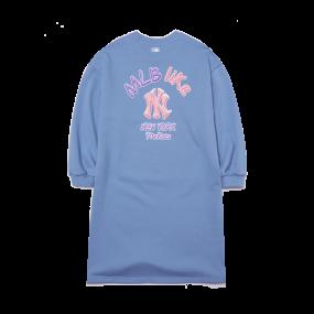 LIKE 오버핏 롱 원피스 뉴욕양키스