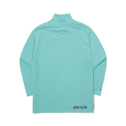 레이어드용 목폴라 티셔츠 보스턴 레드삭스
