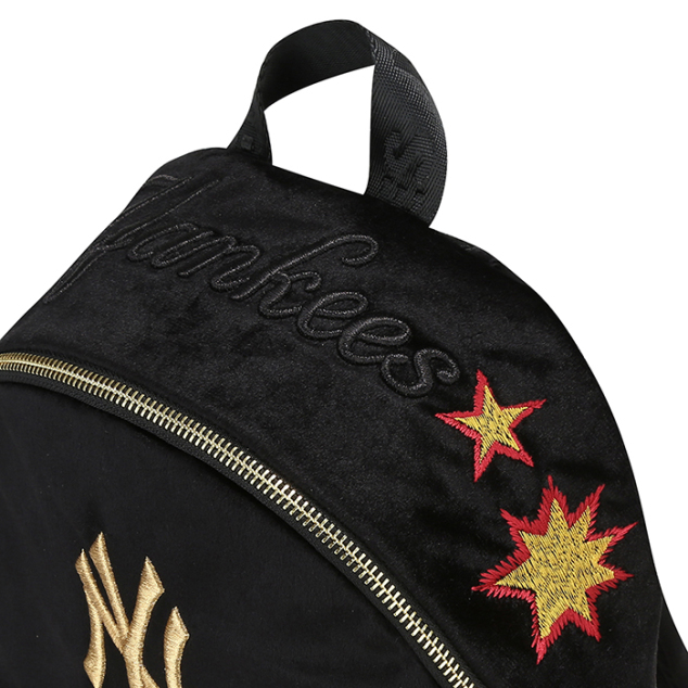 NEW YORK YANKEES BLACK PANTHER SMALL BACKPACK