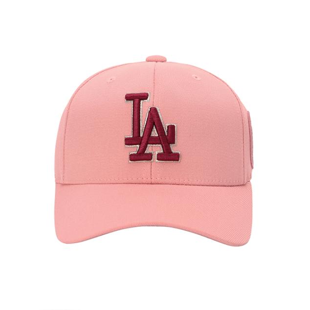 LA DODGERS CIRCLE CURVED CAP