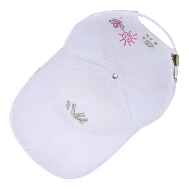 NEW YORK YANKEES KITSCH FLOWER ADJUSTABLE HAT