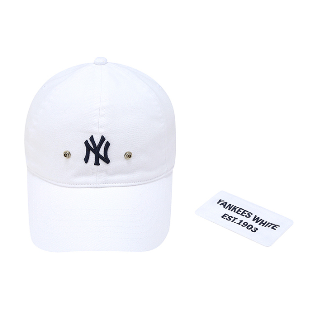 NEW YORK YANKEES HIDDEN LOGO BALL CAP