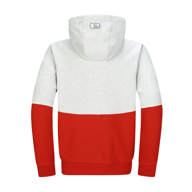 UNISEX TRIPLE COLOR BLOCKING HOODIE