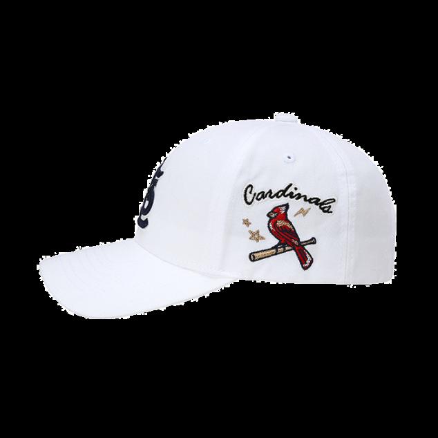 ST. LOUIS CARDINALS SIDE CHARACTER ADJUSTABLE HAT