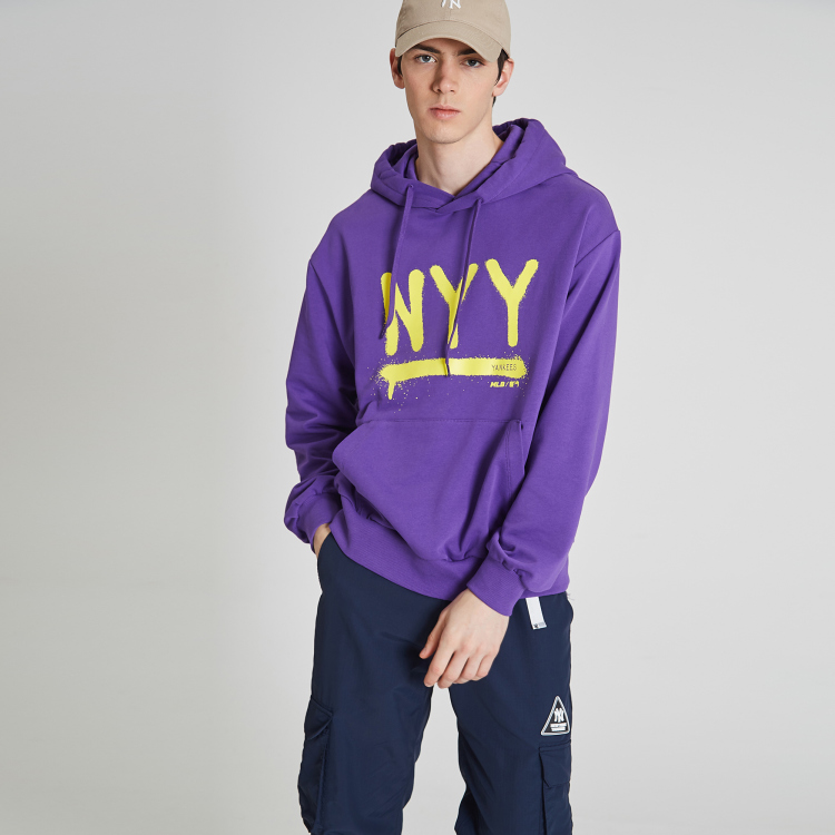 hot sale online 7497b acd89 NEW YORK YANKEES NYY COLOR DRAWING HOODIE | 31HDD3911-50C | MLB